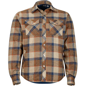 Marmot M's Arches Insulated LS Shirt Coffee